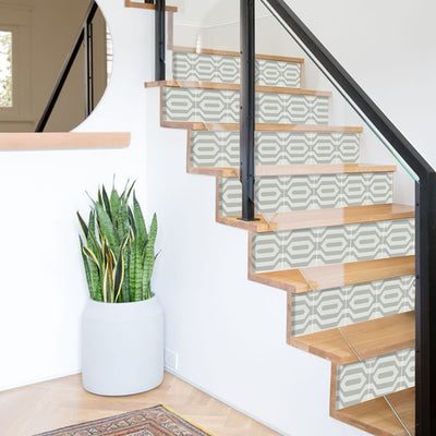 Stair Riser Stickers - Stair Riser Tile Decals - Lariat