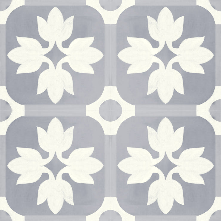 Vinyl Floor Tile Sticker - Margot Slate