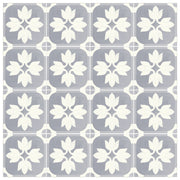Vinyl Tile Stickers for Kitchen, Bathroom & Floors in Margot Slate