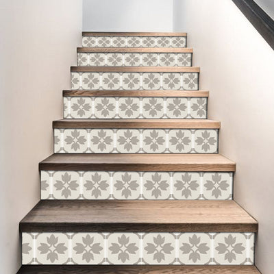 Margot in Taupe Stair Riser Stickers