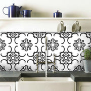Vinyl Tile Sticker Splash back - Removable Vinyl Wall Decal Milano