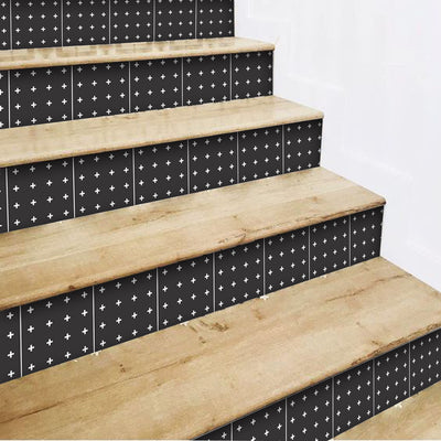 Mini Cross Stair Riser Stickers