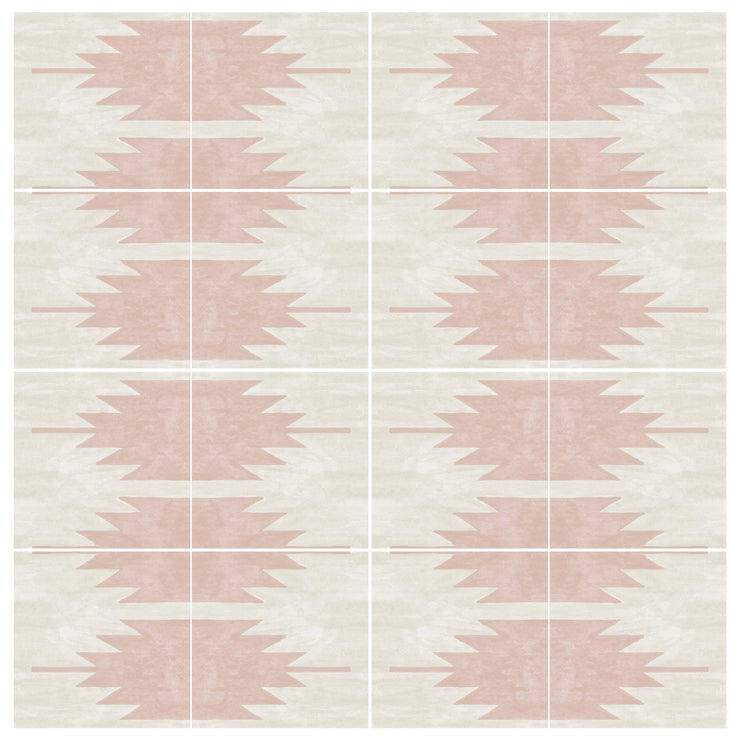 Mojave Wallpaper in Dusty Pink