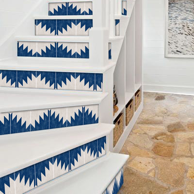 Montecito Stair Riser Stickers