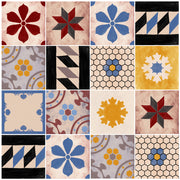 Removable Vinyl Wallpaper Moroccan Mix