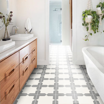 Vinyl Floor Tile Sticker - Neptune