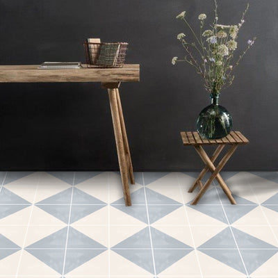Vinyl Floor Tile Sticker - Oslo Grey