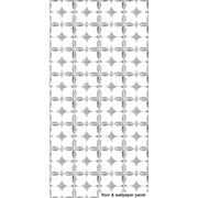 SALE! Removable Vinyl Wallpaper in Carrera Marble Grey - 60 x 120 cm panel