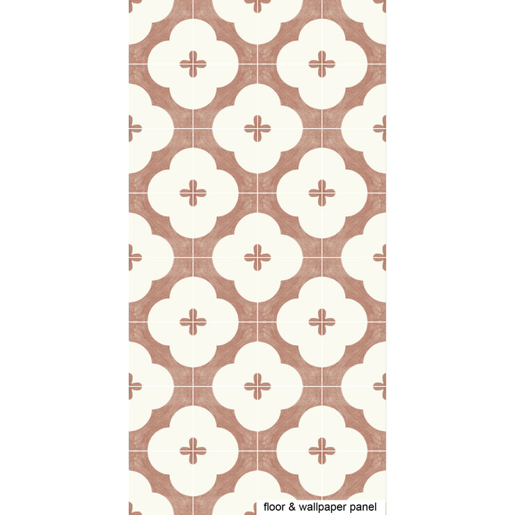 Claude in Sienna Floor Sticker