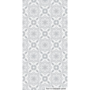 Kabbalah in Grey Vinyl Tile Sticker
