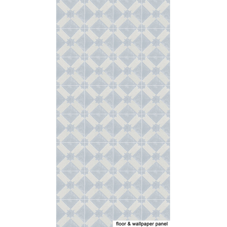 SALE! Removable Vinyl Wallpaper in Riad Chalk - 60 x 120 cm panel