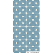 Starry Night in Powder Blue Floor Sticker