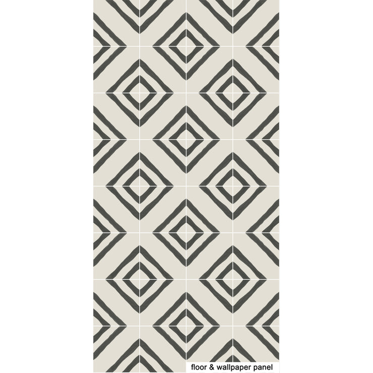 Vinyl Floor Tile Sticker - Zeus