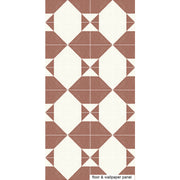 Cheyenne Wallpaper in Terracotta