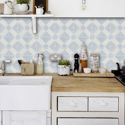 Riad in Chalk Wallpaper