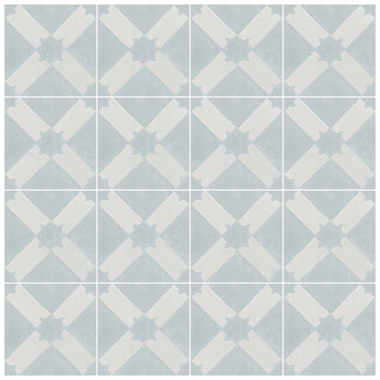 Removable Vinyl Wallpaper in Moroccan Riad Chalk