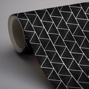 Triangles Floor Sticker in Black