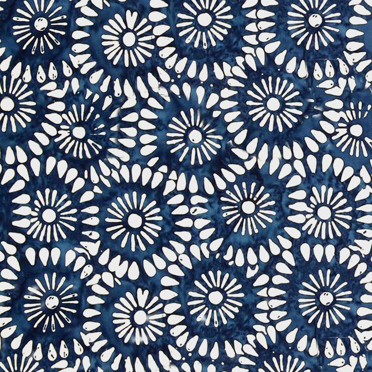 Tile Sticker Pack in Shibori Indigo Blue for Kitchen, Bathroom & Floors