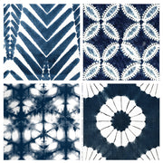 Shibori Vinyl Tile Sticker