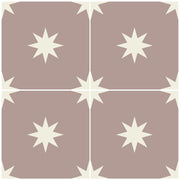 Tile Sticker for Kitchen, Bathroom & Floors in Moroccan Starry Night Putty