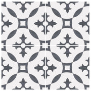 SALE! Removable Vinyl Wallpaper Stella Charcoal in 60 x 120 cm panel