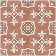 Custom Palma in Red Earth Floor Sticker for LeAnn