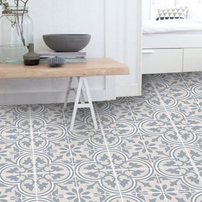 SALE! Vinyl Floor Tile Sticker Panel of 60 x 120 cm size  - Trefle Sand