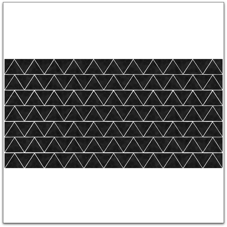 Triangles in Black Wallpaper