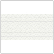 Triangles Wallpaper in Milk White