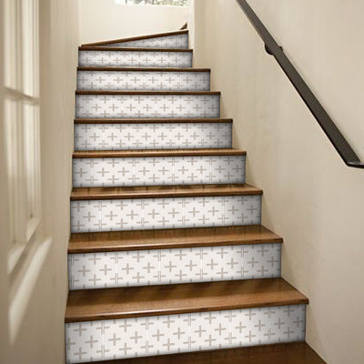 Stair Riser Stickers - Stair Riser Tile Decals - Triton