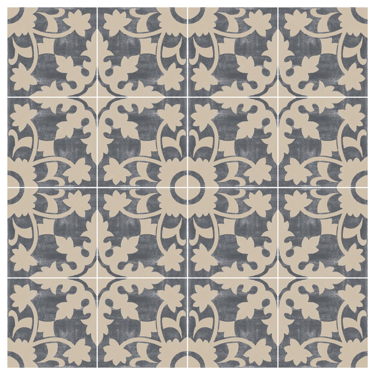 Willow in Fonte Grey Floor Sticker