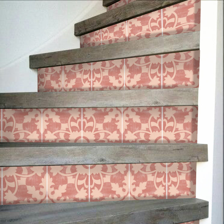 Willow in Brick Stair Riser Stickers