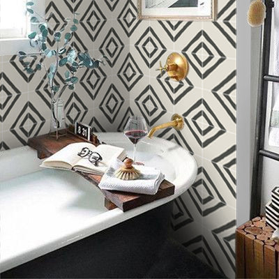 Vinyl Tile Stickers for Kitchen, Bathroom & Floors in Zeus