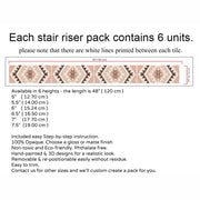 Alamo Stair Riser Stickers