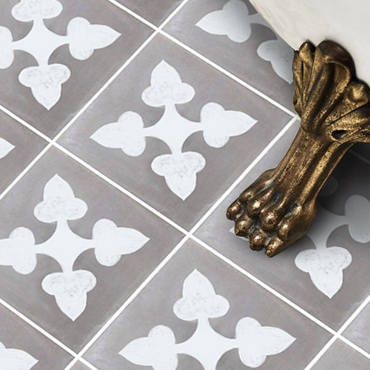 Vinyl Floor Tile Sticker - Bellota Flint