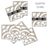 SALE - Corona in Cafe Vinyl Tile Sticker Pack - 24 pcs pack in 15 cm size