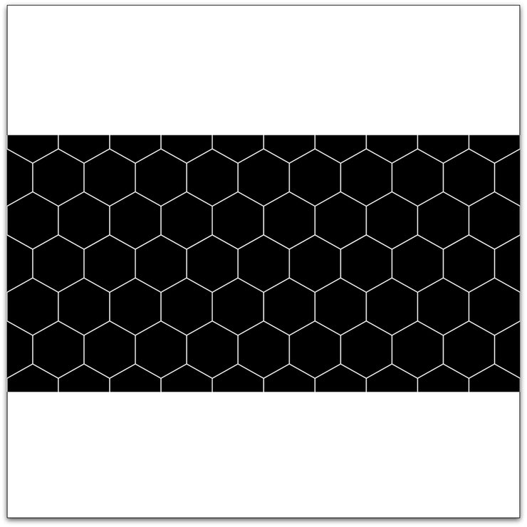 Hexa in Black Wallpaper