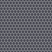 Mini Hexa in Ebony Wallpaper