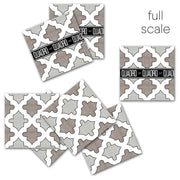 Vinyl Floor Tile Sticker - Shala