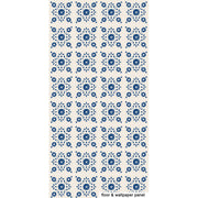SALE! Removable Vinyl Wallpaper in Zinnia Indigo - 60 x 120 cm panel