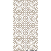 Vinyl Floor Tile Sticker - Corona Chateau Grey