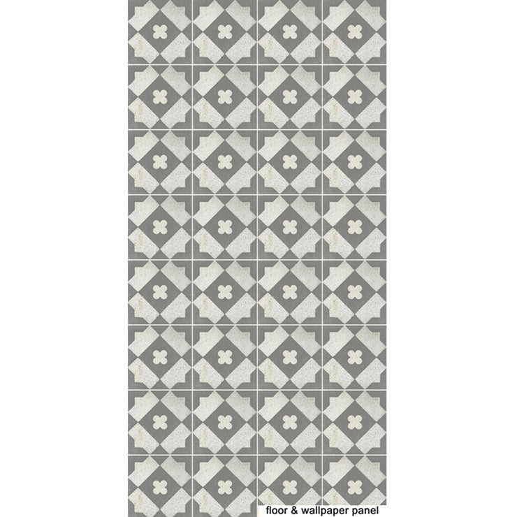 Tile Stickers in Grey Terrazzo for Kitchen, Bathroom & Floors