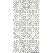 Vinyl Tile Sticker for Kitchen, Bathroom & Floors in Trefle Thistle
