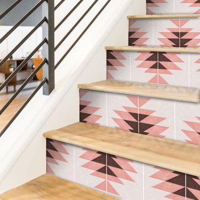 Santa Fe Stair Riser Stickers