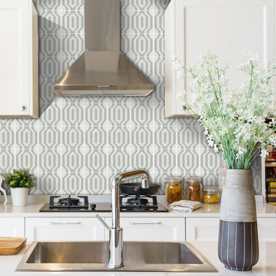 Vinyl Tile Stickers for Kitchen, Bathroom & Floors in Lariat