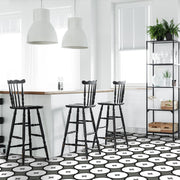 Vinyl Tile Stickers for Kitchen, Bathroom & Floors in Deus