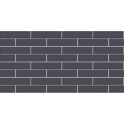 Removable Vinyl Wall Decal Subway in Slate Grey