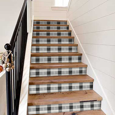 Vichy Stair Riser Stickers