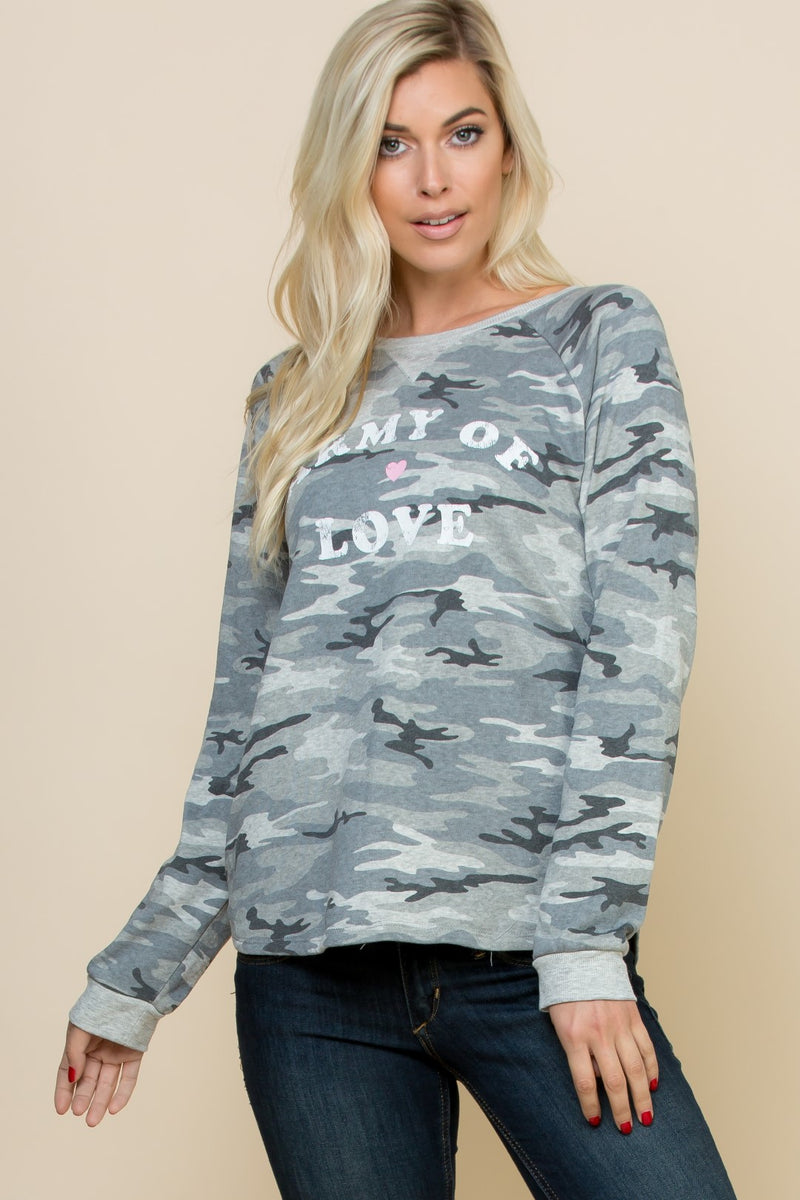 """Army Of Love"" Top - 19 Dollars Or Less"