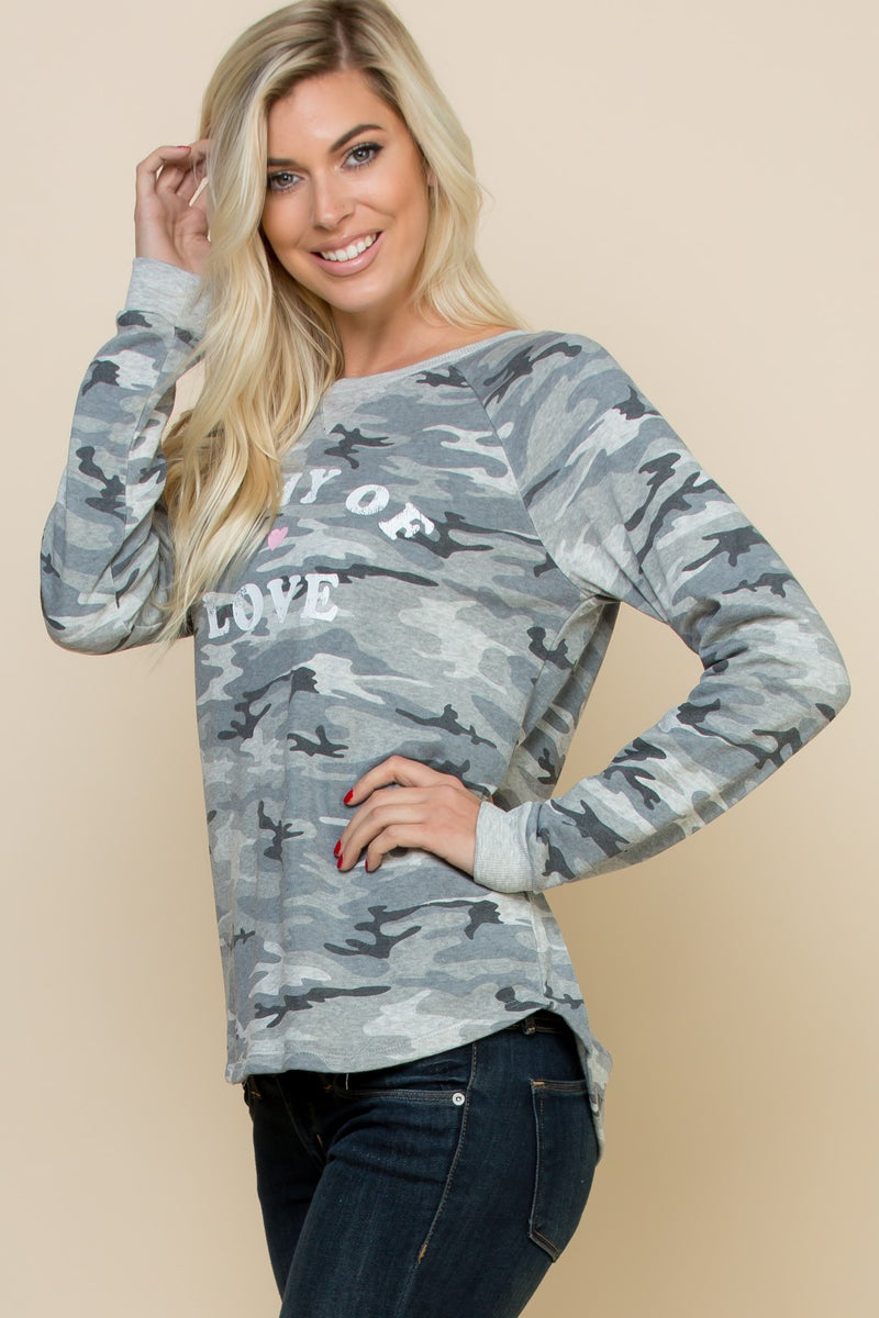 """Army Of Love"" Top"